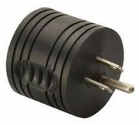 ROUND BLACK ADAPTER FOR RV