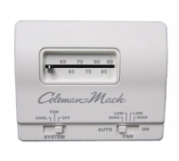 COLEMAN THERMOSTAT WHITE