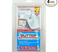 Camco 42123 Gutter Extensions - Pack of 4