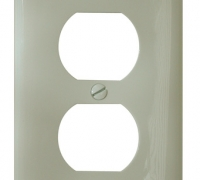 RECEPTACLE COVER IVORY
