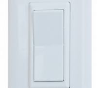 Diamond 52595 White Decor Switch Speed Box with Cover